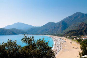 turecka plaża