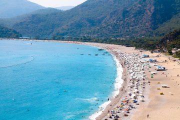 Plaża w Oludeniz Turcja